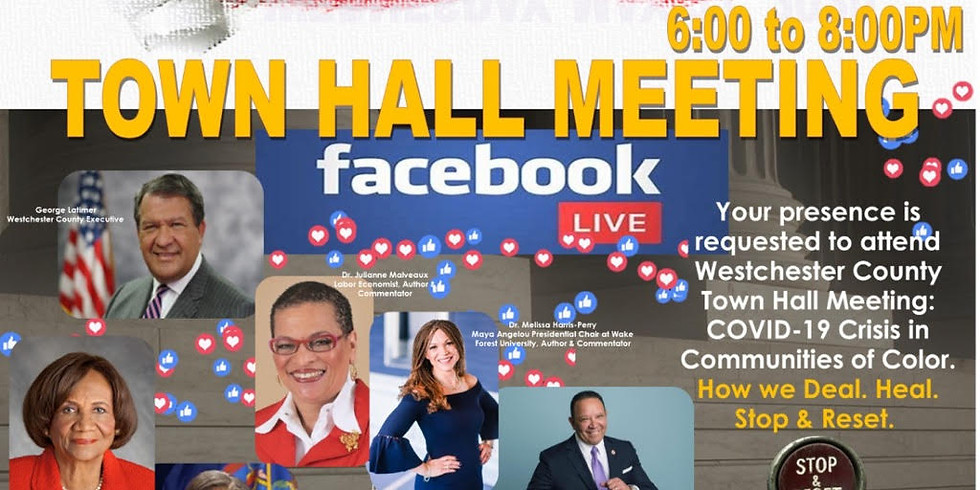 Westchester County Town Hall Meeting on Facebook Live