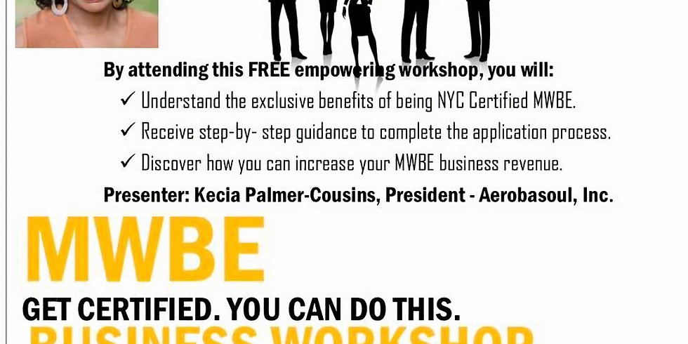 CANCELLED - MWBE Business Workshop