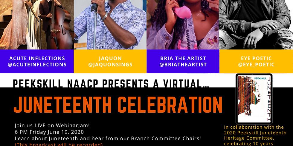 Virtual Juneteeth Celebration