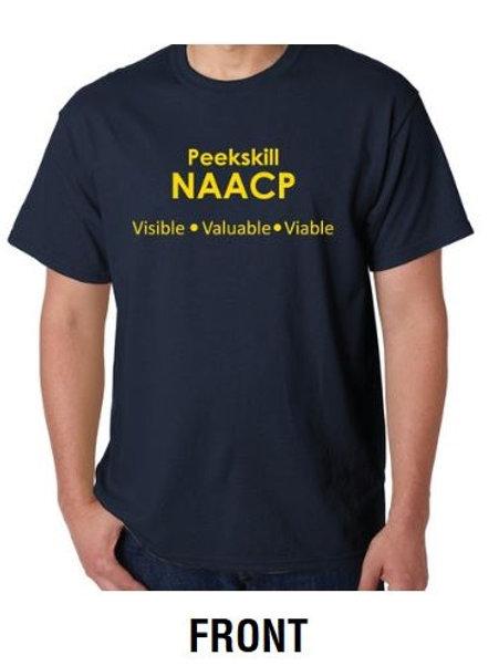 Peekskill NAACP T-shirt (Navy)