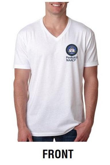 Peekskill NAACP T-shirt (White)