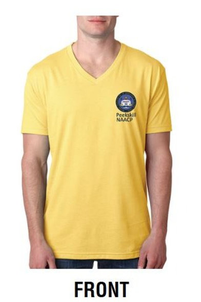 Peekskill NAACP T-shirt (Yellow)