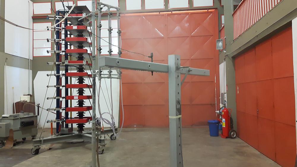 Teste de resistência dielétrica