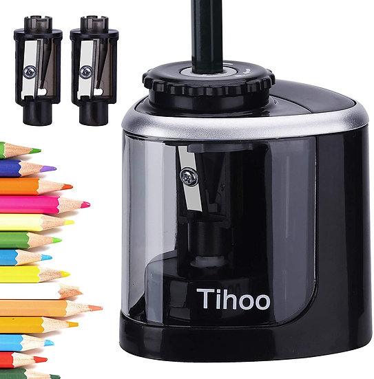 Electric Pencil Sharpener, Battery Operated