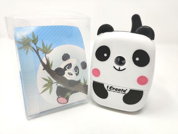 I Create Hand Crank Pencil Sharpener - Panda