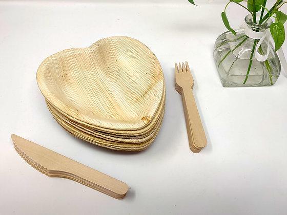 "Heart Plate/Bowl 6"""