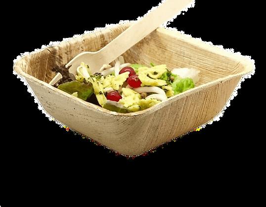 Square Salad Bowls & Cutlery