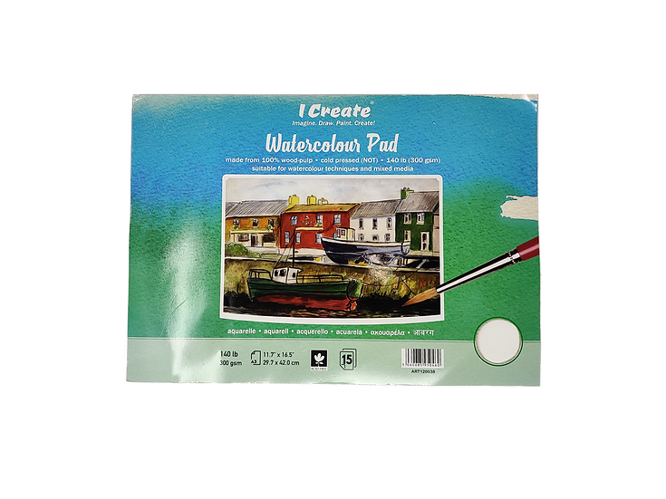 A3 Watercolour Pad (New Stock)