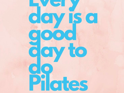 Pilates is On!