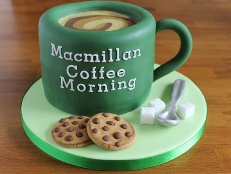 Fancy a latte before Pilates?? Come along to the Unit and join their Macmillan coffee morning before
