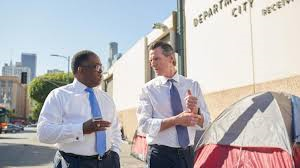 Governor Newsom and Supervisor Ridley-Thomas