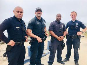 LAPD Beach Patrol