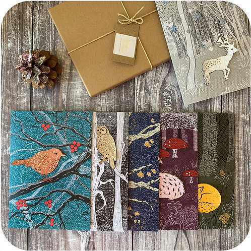 Plantable Woodland Friends Cards