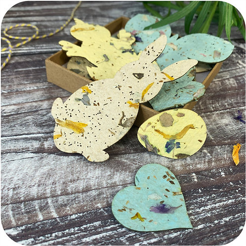 Easter Plantable Tokens Letterbox Gift