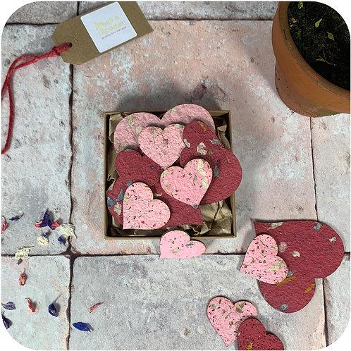 Plantable Hearts Gift Box