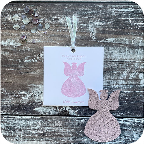 Plant an Angel Seed Paper Card