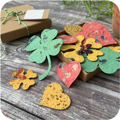 Summer Plantable Tokens Letterbox Gift