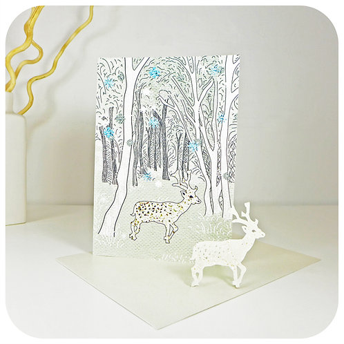 Greeting Card - Plantable Deer