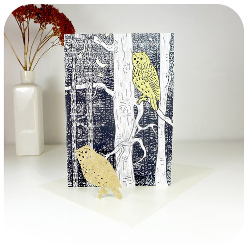 Greeting Card - Plantable Owl