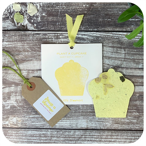 Plant A Cupcake Seed Paper Card