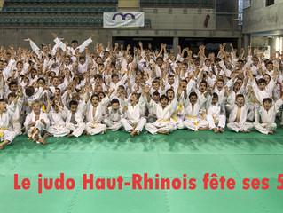 50ième anniversaire du C.D. 68 Judo