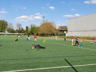 Reprise des activités à la section sportive du Collège de Brunstatt