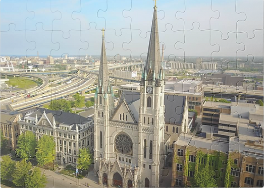 Jesu at Marquette Puzzle