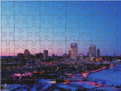 A Beautiful Night in Milwaukee Puzzle