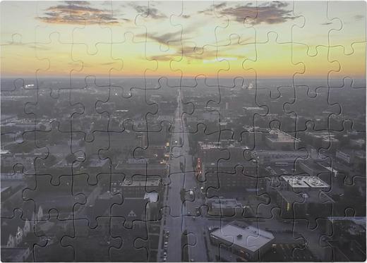 Milwaukee Skyline Puzzle