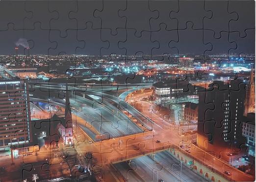 Marquette Interchange Puzzle