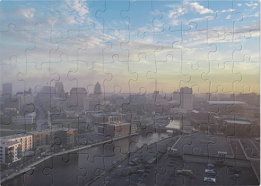 Cloudy Milwaukee Day Puzzle