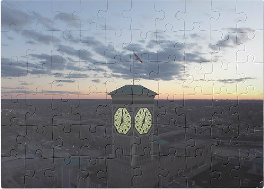 Rockwell Clock-tower Puzzle