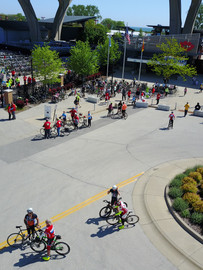 UPAF Ride for the Arts Drone Photo