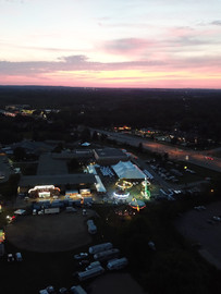 St. Dominic's aerial drone photography