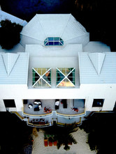 High elevated aerial roof exposure only