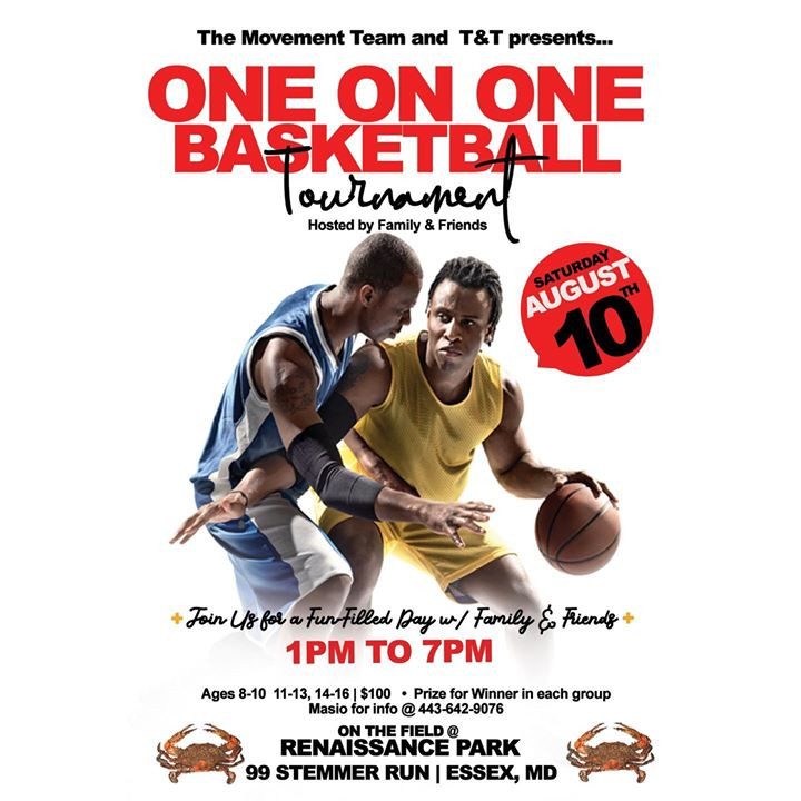 One-On-One Basketball Tournament
