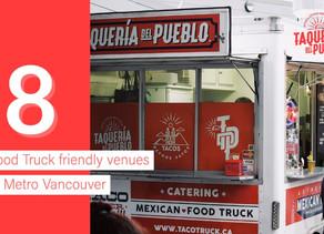 Food Truck Friendly Venues in Metro Vancouver