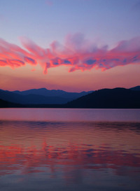 Sunset at Priest Lake, Idaho