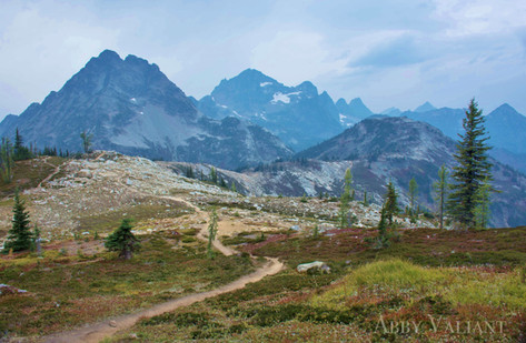 Maple Pass in the North Cascades