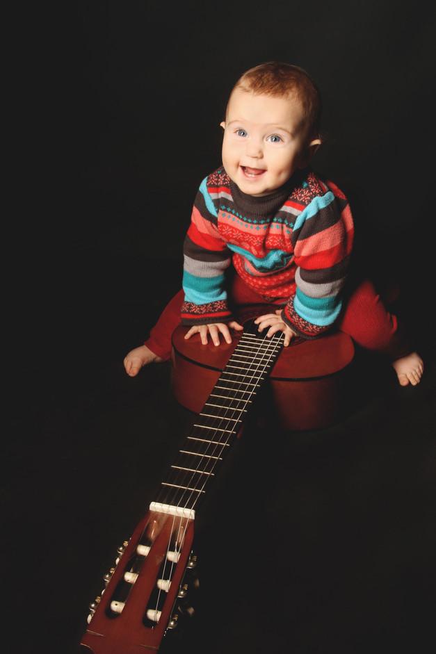 bébé rock n'roll