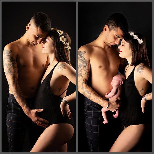 Shooting duo : Grossesse et bébé