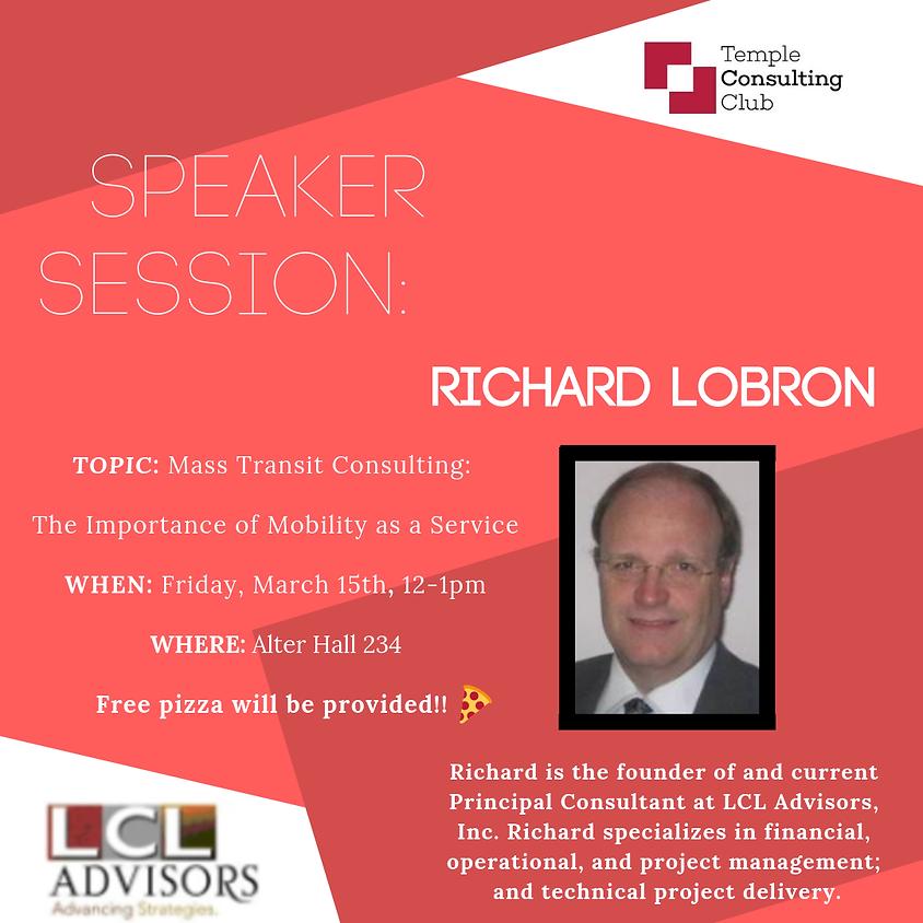 Speaker Session: Mass Transit Consulting