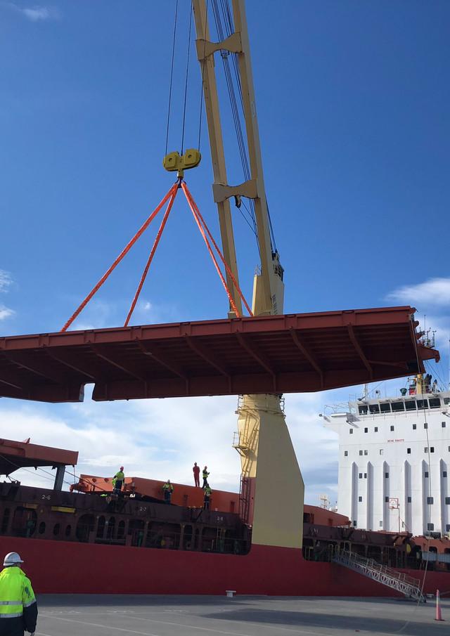 Toll Shipping Webb Dock