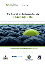 Council on Business & Society teaching note