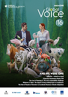 Global Voice magazine #16 Council on Bus