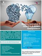 CENTRALE-ESSEC Mastère Spécialié Entrepreneurs
