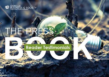 CoBS reader testimonials, CSR, leadership, diversity, sustainability, SocEnt