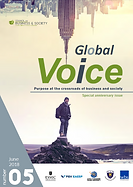 Council on Business &Society Global Voice magazine, CSR, leadership, entrepreneurship, finance, sustainability, CSV