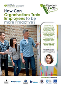 How Can Companies Train Employees to Be More Proactive? Employees who take a proactive approach at work benefit themselves and the organisation. Prof. Karoline Strauss, ESSEC Business School, with research on how to achieve it.