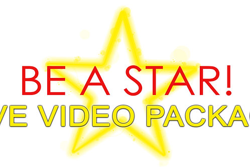 Be A Star - Video Package